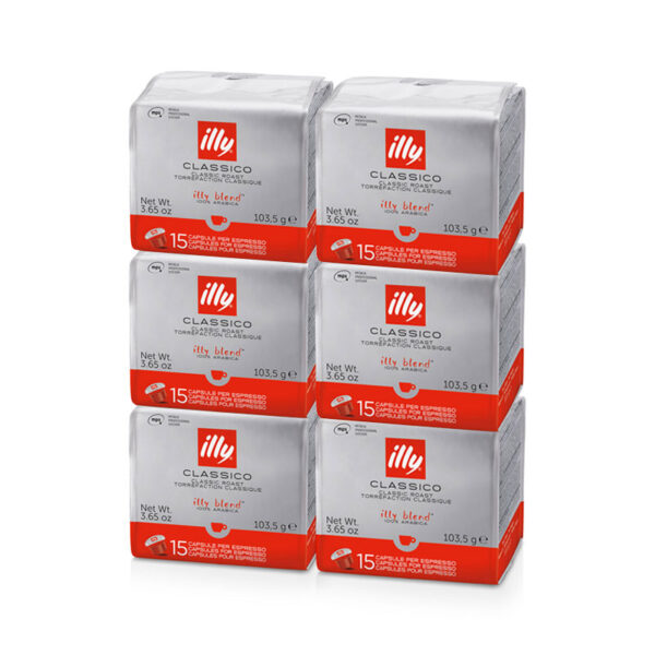 Illy kapsule MPS, Classico