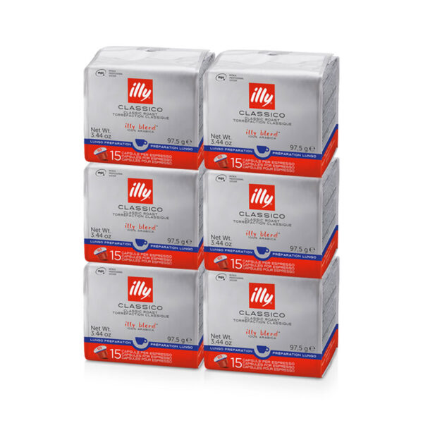 Illy kapsule MPS, Lungo